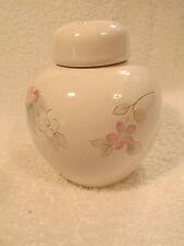 Pfaltzgraff Wyndham floral tea Rose pattern Potpourri jar / small pot with Lid