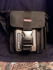Official Nintendo Gameboy Advance Carrying Case Tote Travel Bag Shoulder Strap