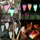 Waterproof LED Outdoor Solar Power Garden Decor Path Wall Fence Lawn Lamp Light