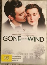 """GONE WITH THE WIND 75th Anniversary """"Academy Award Masterpiece"""" DVD"""