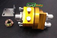 GPI Aluminum AN10 Universal Oil Filter Cooler Sandwich Plate Adapter yell