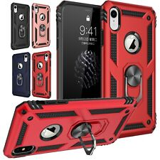 For iPhone 11 Pro 6 6s 7 8 Plus XS Max XR X Case Kickstand Shockproof Ring Cover