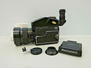 MAMIYA 645 Medium Format Camera Body + 45mm Lens + Waist Level Finder
