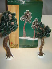 Dept 56 North Pole Woods Accessory - Pinewood Trees, Large - Set of 2