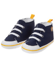 Gymboree Purrfect Prep Football Navy Blue Shoes Infant Baby Boy Size 3 NEW