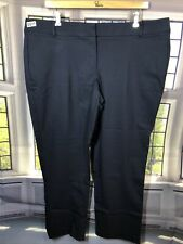 Lane Bryant 24S NWT Sexy Stretch The ALLIE Pants NaVy BLUE 0571