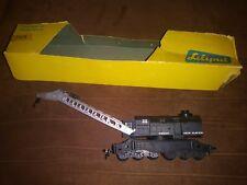 "Vintage Liliput 210 ""Kranwagen"" HO Gauge Crane w/ box"