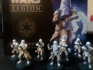 Star Wars: Legion - Imperial Snowtroopers Unit Expansion PAINTED