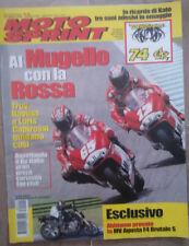"D3 ""MOTO SPRINT""N. 22- GIUGNO 2006 - KATO/TROY BAYLISS-LORIS CAPIROSSI/GP ITALIA"