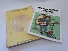 The Beatles Complete and Its easy to play Beatles music books