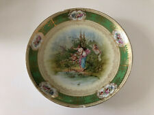Antique Imperial Crown China Austria Cupid / Cherubs / Angel - CABINET PLATE