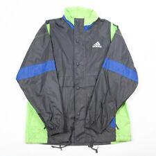 De Colección Adidas Abrigo de lluvia de luz | Para Hombre M | Retro Chándal Festival Impermeable