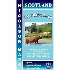 Scotland Paperback Book Maps & Atlases