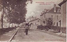 France Neufchateau - Entree de la Ville - Rue Jules-Ferry 1919 used postcard