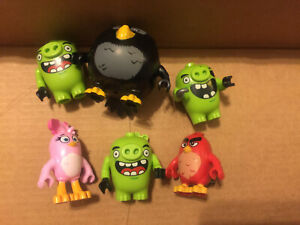 LEGO Angry Birds Minifigures Lot  of 6 free shipping