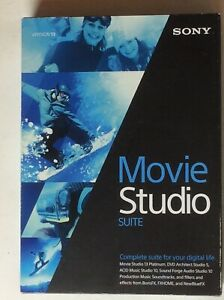 NIB! Sony Movie Studio 13 Suite FULL VERSION