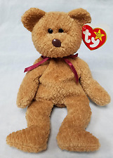 Ty Retired Beanie Baby Curly With Brown Crooked Nose - 13 Errors Extremely Rare