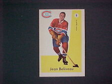 1959/60 PURKHURST HOCKEY #6 JEAN BELIVEAU MINT""