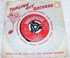 "Mike  Sarne   Will  I  What  /  Bird ,  You  Know  I  Love  Ya  Original 1962 7"""