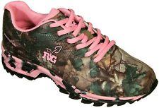 Realtree Girl Mamba Ladies Camo & Pink Tennis Shoes, Sneakers Hiking Camping