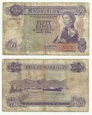 Ile Maurice : 50 Rupees 1967 Sign 2