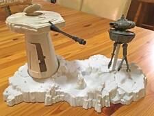 Vintage Star Wars items:Hoth Base Playset - 1979, Slave 1 1980, Bespin Cloudcar