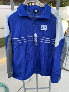 Reebok Mens NY Giants NFL On Field Full Zip Jacket XL