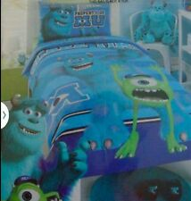 New MU Monster University Inc Mike Sully Single Quilt Cover Set kids Mothers Day