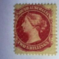SOUTH AUSTRALIA STAMP SG 150   MH QUEEN VICTORIA  2 SHILLING