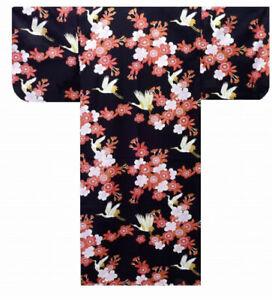 Authentic Japanese Ladies Yukata / Kimono: Sakura & Crane #982