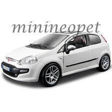 BBURAGO 21053 FIAT PUNTO EVO 1/24 DIECAST WHITE