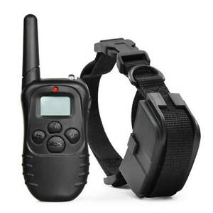 Dog Shock Training Collar 328 Yards Remote Waterproof for Large Med Small Dogs