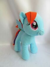 My Little Pony Blue Rainbow Dash Pegasus Plush Stuffed Animal 11""