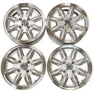 MG Midget/AH Sprite Silver Minilight Alloy Wheels
