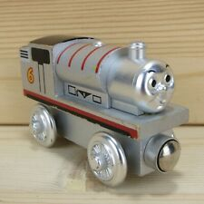 60 YEAR SILVER PERCY - THOMAS & FRIENDS WOODEN TRAIN ENGINE - 2003 L. CURVE