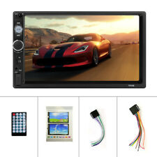 """7"""" Double 2 Din Car MP5 Player Bluetooth Touch Screen Stereo Radio USB AUX"""