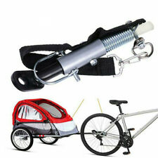 New Universal Bike Bicycle Coupler Hitch Trailer Baby Linker Connector Adapter~