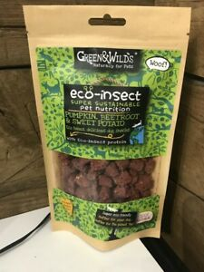 Green & Wilds Eco Insect Natural Dog Treats With Pumpkin, Beetroot & Sweet Potat
