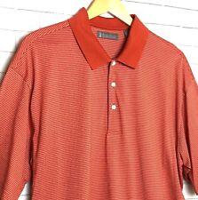 Daniel Cremieux Signature Collection Men's Polo Sz XL 3 Button Short Sleeve Golf