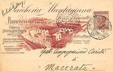 5653) PORTO CIVITANOVA (MACERATA) SACCHERIA MARCHIGIANA. VG NEL 1926.