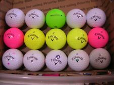15 Callaway Supersoft Aaaaa Golfballs 9White,3 Yel,2 Pink,1 Grn#A003