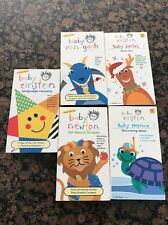 Disney Baby Einstein  VHS Tape Lot Of 5 Pre Owned