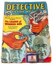 Detective Fiction Weekly Vol. CXXI, #1, July 16, 1938