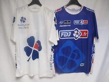 2 Maillot cycliste La Française des Jeux FDJ Tour de France trikot shirt jersey