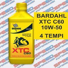BARDAHL XTC C60 10W-50 OLIO MOTO 4T 100% SINTETICO FORMULA POLAR PLUS FULLRENE