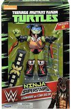 Teenage Mutant Ninja Turtles Super Stars Figure WWE Leonardo As Finn Balor