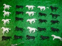 Marx Civil War Fort Apache Playset Horses LOT 2  DEAL  -LOOK @@@!!!!!!!!!!!!