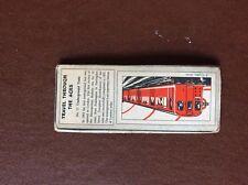 F1e trade card typhoo travel through the ages no 17 train