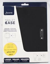 New Factory Sealed Filofax Microfiber Case for iPad Air 2 Black Rediform B829927