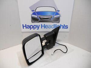 OEM 2016-2018 Nissan Titan XD Left Driver Signal Power Mirror Blind Spot Tow